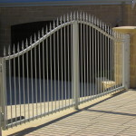 Spearhead Tubular Swing Gate