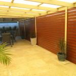 Perth Aluminium Wood Grain Slats