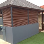 Coloured Louvres