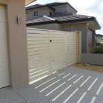 Aluminium Coloured Slat Fencing Portfolio