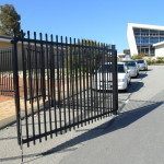 Black Swing Gates