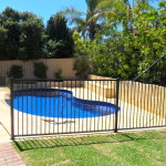 TUBULAR POOL FENCING