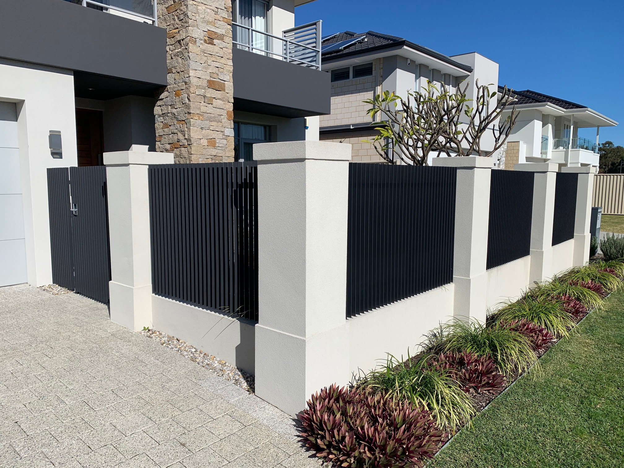 Aluminium Flat Bar Fencing in Waterford