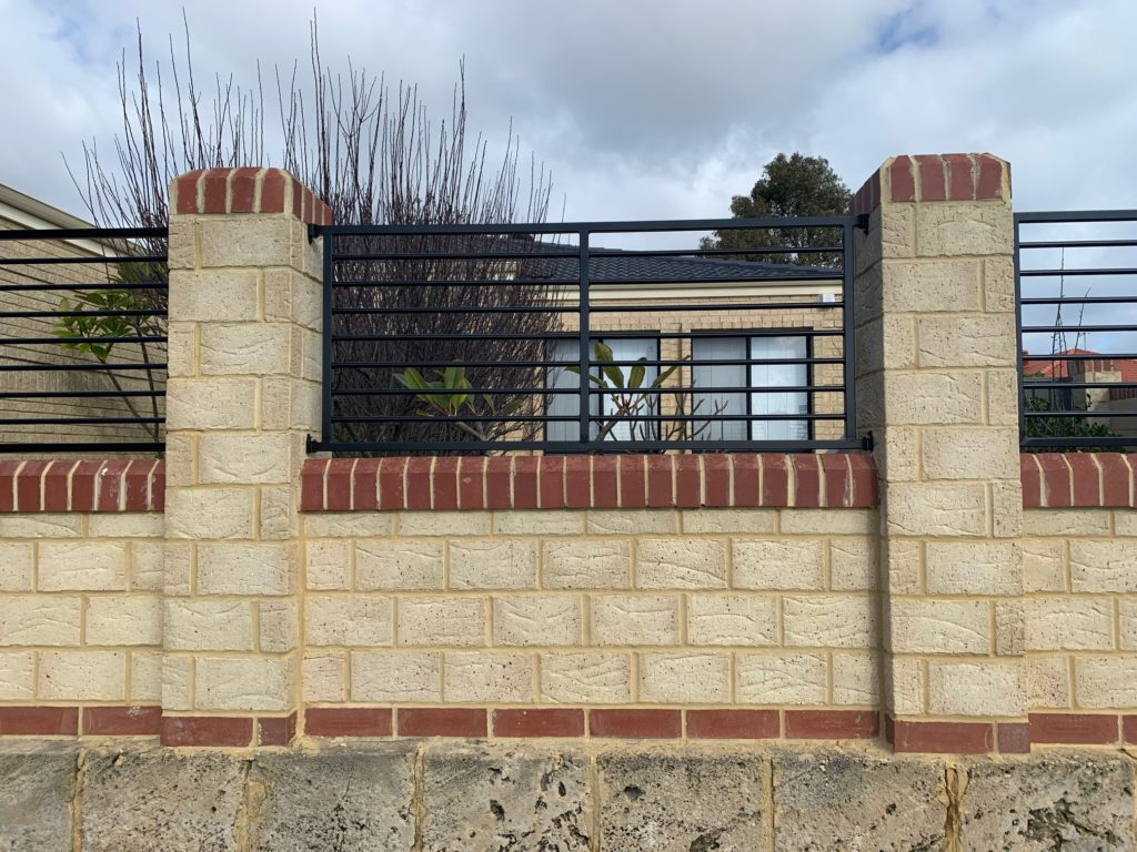Infill Panel Fencing in Currambine