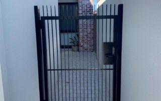 Aluminium Flat Bar Pedestrian Gate in Dianella