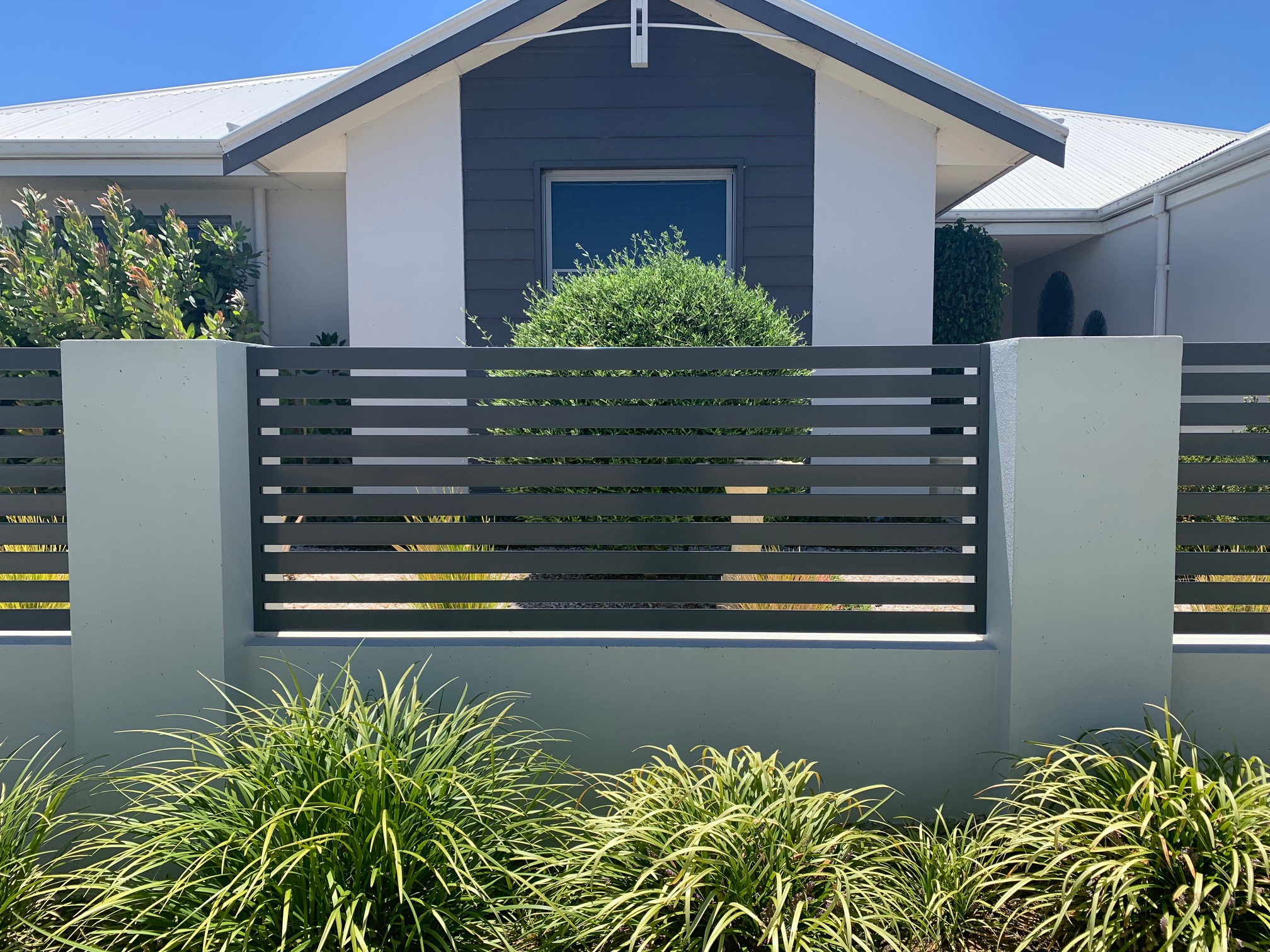 Aluminium Slat Fence in Carramar