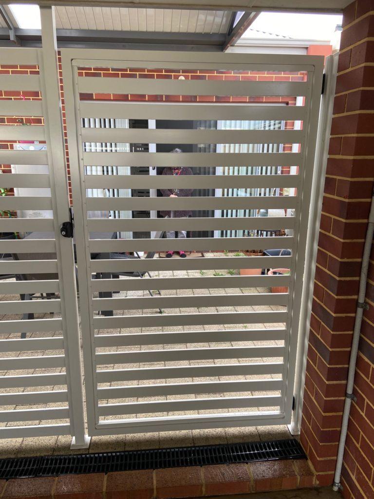 Aluminium Slat Screening in Butler